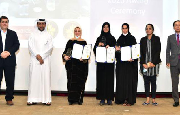 Qu hosts an honoring ceremony for QU-YSC students who won in national and international competitions
